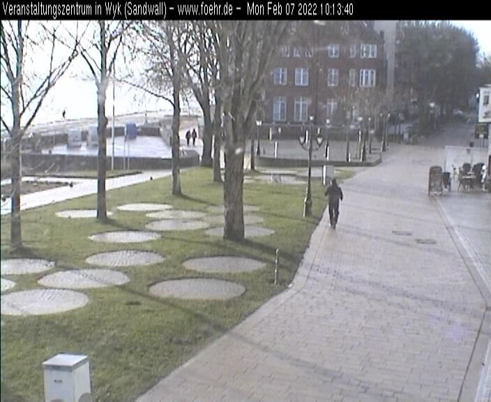 Webcam Föhr - Veranstaltungszentrum-Strandpromenade